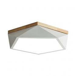 Умный потолочный светильник Xiaomi HuiZuo Smart Macaron Polygon Ceiling Light 18W Crescent White