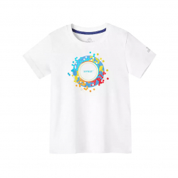 Непромокаемая детская футболка Xiaomi Supield Technology Pure Cotton Hydrophobic Anti-Fouling T-Shirt Model Sun (размер 120)