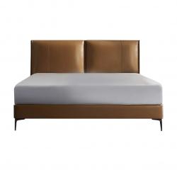 Двуспальная кровать Xiaomi 8H Jun Italian Light Luxury Leather Soft Bed 1.8m Orange (JMP2)