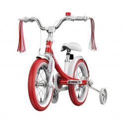 "Детский велосипед Ninebot Kids Girls Bike 14"" Red (N1KG14)"