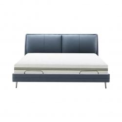 Умная двуспальная кровать Xiaomi 8H Smart Electric Bed Pro Milan RM 1.8 m Gray Blue (умное основание и латексный матрас Schcott)