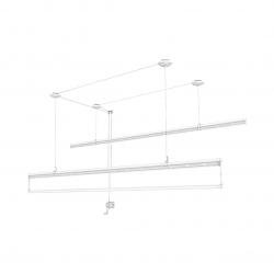 Сушилка для белья Xiaomi Mr. Bond Hand Lift Clothes Rack 2M White