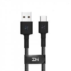Кабель ZMi AL411 USB-Type-C Black (Kevlar) (30 см)