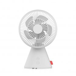 Переносной настольный вентилятор Xiaomi FIVE Mute Telescopic Shaking Fan White (FS03)