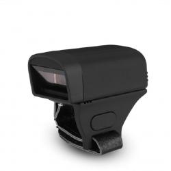 Портативный Bluetooth-cканер штрихкода QunSuo Mini Bluetooth Ring Scanner 1D (S02)