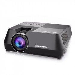 Проектор Excelvan Mini Multimedia LED Projector HDMI USB AV TF 1080P Home Cinema Theater