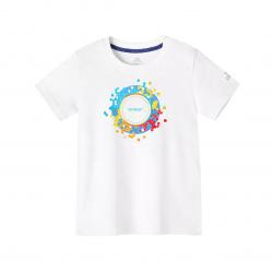 Непромокаемая детская футболка Xiaomi Supield Technology Pure Cotton Hydrophobic Anti-Fouling T-Shirt Model Sun (размер 110)