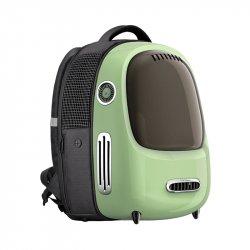 Рюкзак-переноска для кошек Xiaomi Petkit Fresh Wind Cat Backpack Green