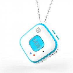 Мини GPS трекер/GPS маяк кулон Reachfar RF-V28 White-Blue
