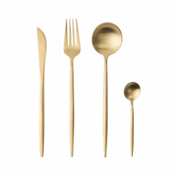 Набор столовых приборов Xiaomi Maison Maxx European Stainless Steel Tableware Golden