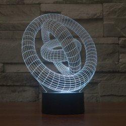 Лампа 3D Узор (GL-70)