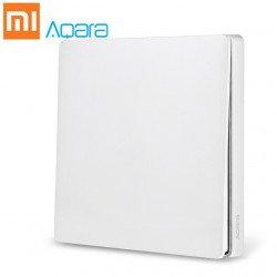 Умный выключатель Aqara Smart Light Switch ZigBee Version (Одинарный без нулевой линии) White (QBKG04LM)