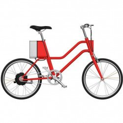 Электровелосипед Xiaomi YunBike C1 Womens Red