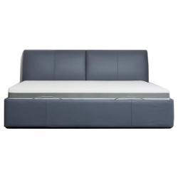 Двуспальная кровать Xiaomi 8h Milan Smart Electric Bed RM 1.5 m Grey Blue (умное основание и латексный матрас Schcott)