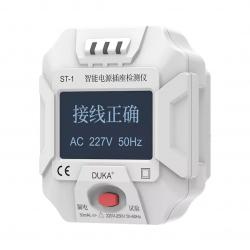 Тестер розеток Xiaomi Duka Smart Power Socket Detector ST-1