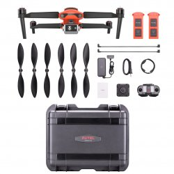 Квадрокоптер с тепловизором Autel Robotics EVO II Dual Rugged Bundle (640) Orange