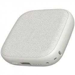 Внешний аккумулятор с поддержкой беспроводной зарядки Xiaomi Solove W5 White