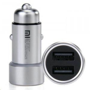 Автомобильное зарядное устройство Xiaomi Mi Car Charger на 2 USB (CZCDQ01ZM)