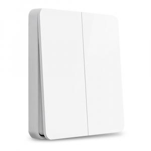 Розетки, выключатели и рамки Умный выключатель двухклавишный Yeelight Smart Switch Light (YLKG13YL) фото