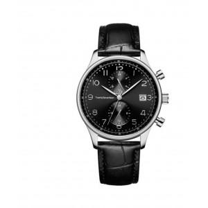 Наручные часы Кварцевые наручные часы Xiaomi Twenty Seventeen Light Business Quartz Watch Black (W003Q) фото