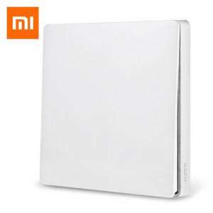 Розетки, выключатели и рамки Умный выключатель Xiaomi Aqara Smart Wall Switch (Одинарный с нулевой линией) White (QBKG11LM) фото
