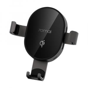 Автомобильный держатель для смартфона с функцией беспроводной зарядки Xiaomi 70mai Vehicle Wireless Charging Phone Holder (Midrive PB01) фото