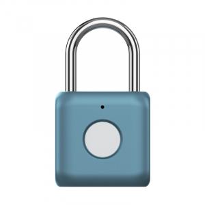 Замки врезные Умный замок Xiaomi Smart Fingerprint Lock Padlock Blue (YD-K1) фото