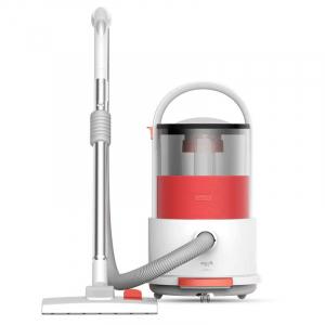 Пылесосы Пылесос Xiaomi Deerma Vacuum Cleaner TJ210 Red Проводной пылесос с сухой и влажной уборкой Xiaomi Deerma Vacuum Cleaner Red (TJ210) фото