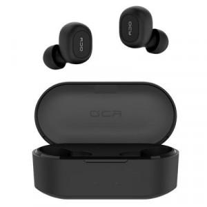 Наушники и Bluetooth-гарнитуры QCY, Беспроводные Наушники QCY T2C TWS Black, Черный