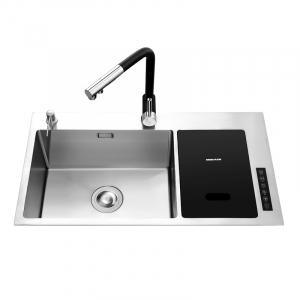 Материалы и комплектующие Умная кухонная мойка с ультразвуковой технологией мытья Xiaomi Mensarjor Kitchen Sink With Smart Washing Machine (JBS2T-M1) фото