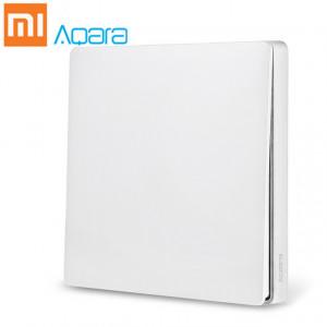 Розетки, выключатели и рамки Умный выключатель Xiaomi Aqara Smart Light Switch ZigBee Version (Одинарный без нулевой линии) White (QBKG04LM) фото