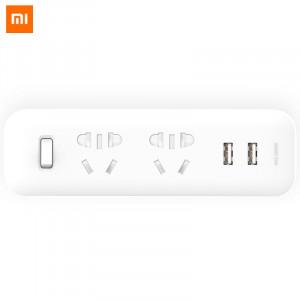 Сетевой тройник Xiaomi Wall Plug Extension White (MJEWZHQ-01QM) фото