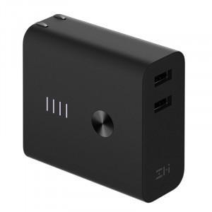 Зарядные устройства и адаптеры Сетевое зарядное устройство Xiaomi ZMI Dual USB Charger Mobile Power Bank 5200 mAh (APB01) фото