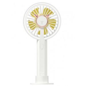 Переносной настольный вентилятор Xiaomi Love Life Portable Handheld Fan White фото