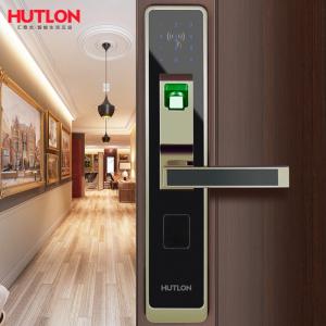 Замки врезные Умный биометрический замок для входной двери Hutlon Smart Lock HZ-69017A-TS Электронный биометрический дверной замок Hutlon Smart Lock HZ-69017A-TS фото