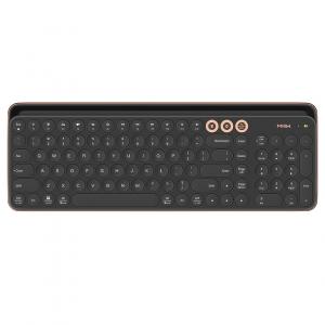 Клавиатуры Беспроводная клавиатура Xiaomi MiiiW Bluetooth Dual Mode Keyboard Black (MWBK01) Русско-Английские клавиши Беспроводная клавиатура Xiaomi Miwu Bluetooth Dual Mode Keyboard Black (MWBK01) фото