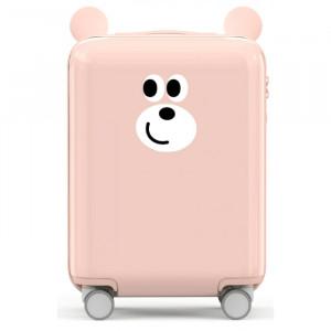 Чемоданы Xiaomi, Детский чемодан Xiaomi Childish Little Ear Trolley Case 18 дюймов Pink, Розовый