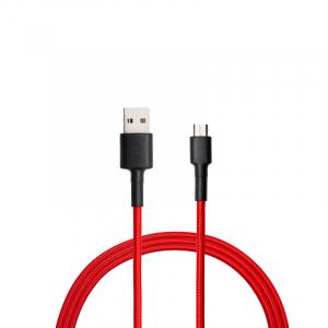 Компьютерные кабели, разъемы, переходники Кабель Xiaomi MI Micro USB Braided Kevlar Cable 100 см Red Black (SJX13ZM) фото