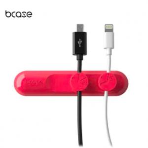 Кронштейны, держатели и подставки Магнитный органайзер кабелей и различных мелочей Xiaomi Bcase TUP Magnetic Organizer Red фото