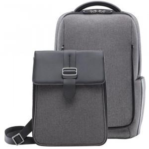 Сумки Рюкзак 2 в 1 Xiaomi Fashion Commuter Backpack Grey (ZJB4118CN) фото