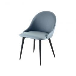2 Стула кухонных Xiaomi Yang Zi Seashell Rock Plate Dining Chair x 2 Mother Shell Blue