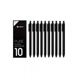 Набор ручек Xiaomi KACO Pen Pack Black (10 шт)