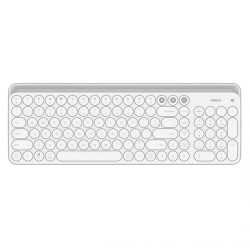 Беспроводная клавиатура Xiaomi MiiiW Bluetooth Dual Mode Keyboard White (MWBK01) Русско-Английские клавиши