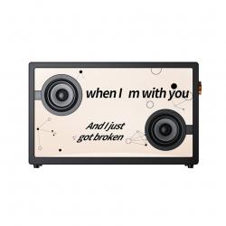 Беспроводная колонка Xiaomi Morror Art Suspended Lyrics Transparent Bluetooth Speaker (175MVB01)