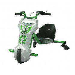 Электроскутер для дрифта PowerRider 360 Green-White