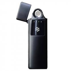 Электронная USB зажигалка ветрозащитная беспламенная Xiaomi Beebest Ultra-thin Charging Lighter Black (L101)