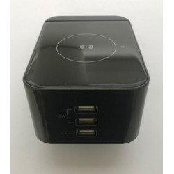 Беспроводное зарядное устройство ULTRA Wireless Charging Pad C10 Grey