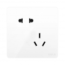 Розетка Xiaomi OPPLE Lighting Wall Switch Socket K12 White Oblique Five Holes Socket