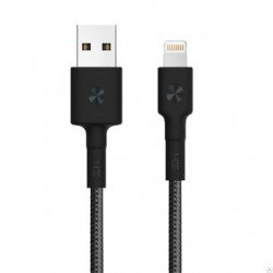 Кабель Xiaomi ZMi AL803/AL805 USB - Lighting Apple all 100 см Black (Kevlar)