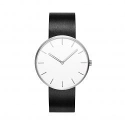 Кварцевые наручные часы Xiaomi Twenty Seventeen Quartz Leather Strap Black